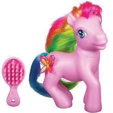 Also on my wish list: My Little Pony (with brush).