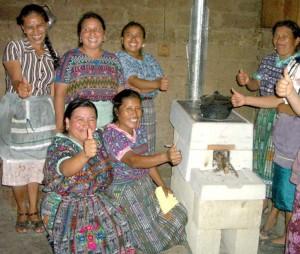 Guatemalan Women celebrate their new particular social group.